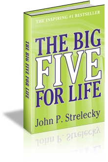 Image of the book the big 5 for life by John P. Streleckey