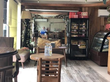 Blog schreiben im Cafe