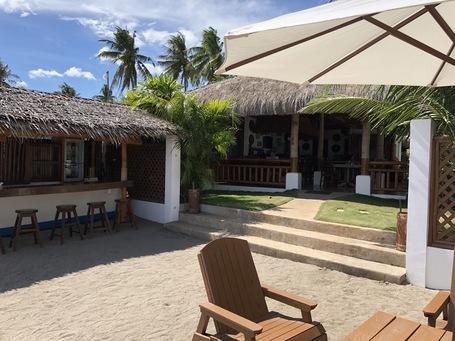 Restaurant und Strandbar