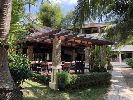 Das Asia Restaurant von dem wir unser Mittag geliefert bekommen haben