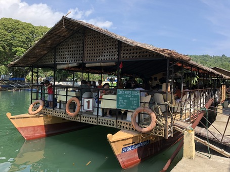 Loboc River Cruise mit Mittags Bufette
