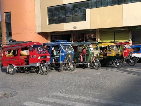 Die Tricycles im Regioalen Aufbau