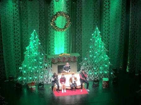 Pentatonix on Stage