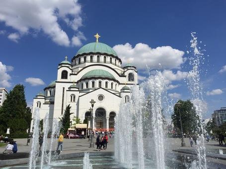 Der Tempel des Heiligen Sava