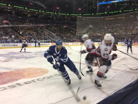 Ein Foto des Spiels Toronto Marlies gegen die Bellville Senators