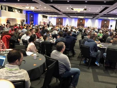 Hauptsaal der ConFoo.ca Konferenz