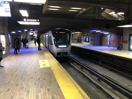 Die Metro auf Rädern in Montreal