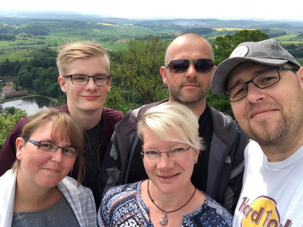Familienfoto im Harz