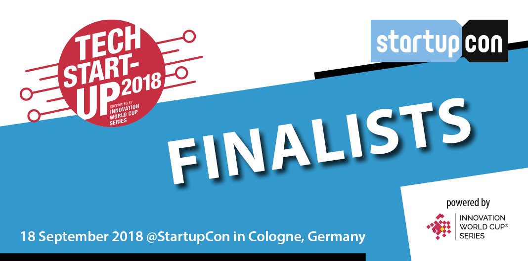 Banner of Top Tech Startup 2018 Finalist