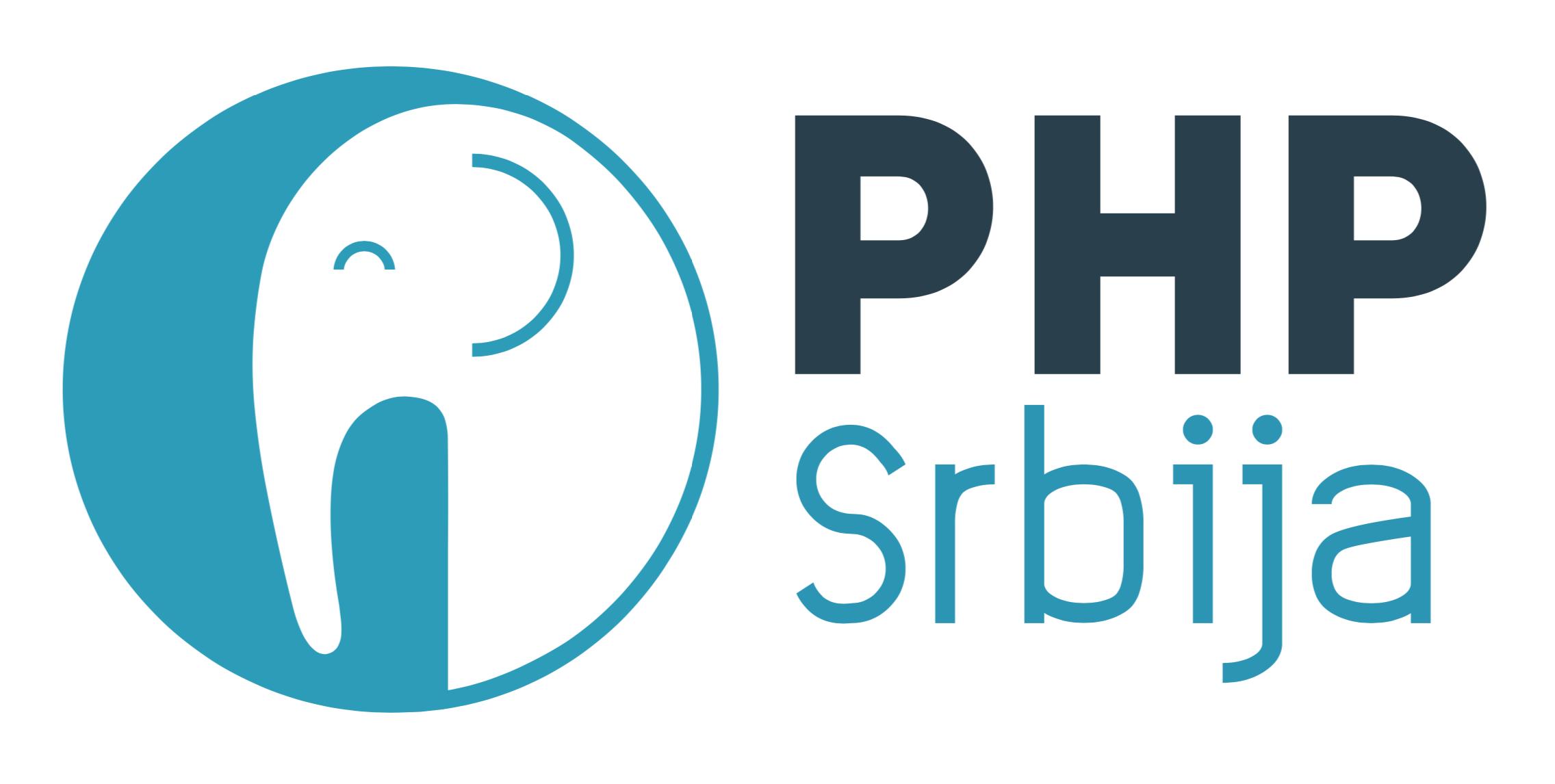 Das Logo der Konferenz PHP Srbija in Belgrad